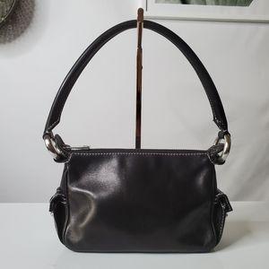 Marc Jacobs Black Leather Mini Bag Purse